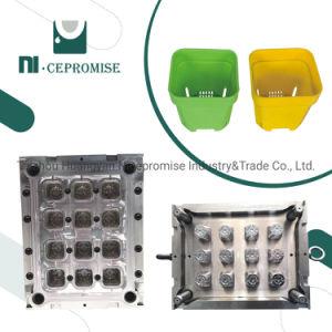 Customzed cavidad Multi molde de inyección de plástico Jardín Maceta