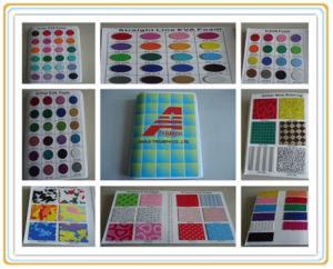 A impressão de materiais para artesanato EVA