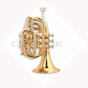 Trompette de poche professionnelle (PTR-A400L) / Trompette de poche