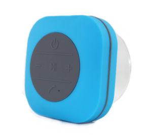 Titular de la resistente al agua ducha Mini altavoz Bluetooth Manos Libres Inalámbrico Portátil