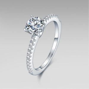 De modieuze Zilveren Ring van Juwelen 925 met Kubieke Zircon