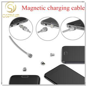 Cavo di carico magnetico di vendita superiore del micro di 2017 Wsken del cavo magnetico rotondo del USB per la parte superiore di Samsung Apple Huawei2017 che vende magnetico rotondo di Wsken