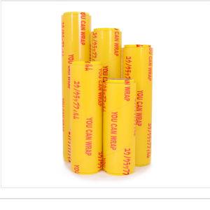 La FDA a approuvé de qualité alimentaire de plastique PVC/PE du film étirable