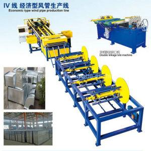 Condotto di HVAC che forma macchina per la fabbricazione di produzione del tubo di ventilazione