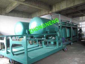 エンジンオイルのリサイクルプラント、汚れたエンジンオイルの蒸留プラント、黒いエンジンオイル浄化のプラント