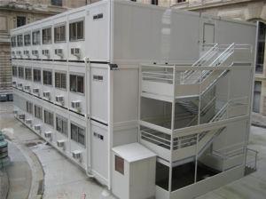 Conteneur de ecomonic Pack plat Maison modulaire