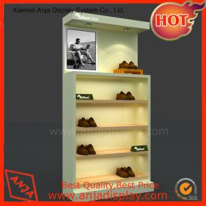 Chaussures Chaussures étagère en bois d'affichage vitrine d'affichage