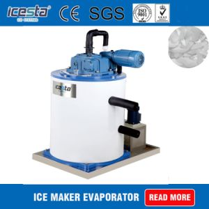 200kg世帯の薄片の氷の蒸化器ドラム