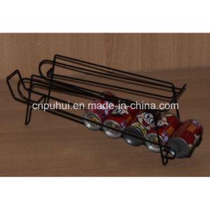 Metalldraht-Fußboden-stehende Flaschen-Zahnstange (PHY1024F)
