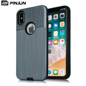 Fabricante grueso tapa móvil teléfono caso para el iPhone X iPhone 8 Casos