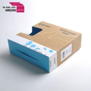 Heißer Verkaufs-Kraftpapier-überzogener Papierkasten für Schal