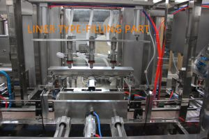 Preço baixo Automatic 3L-5L Big Galão Garrafa Bebida Bebidas Máquina de plantas de enchimento de água líquida com Novo Design