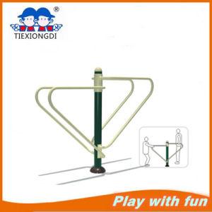 Playground esterno Fitness (Push alto e DIP Station)