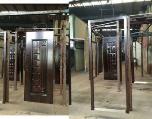 外部の機密保護の鋼鉄錬鉄のドア(SC-S162)