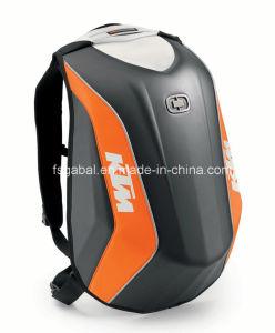Ktm Hard Shell Mochila Moto Racing Deportes antirrobo mochila de viaje
