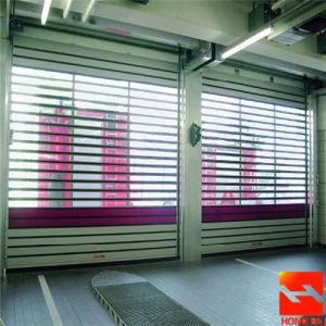 Material duro de aluminio de alta velocidad de obturación de rodadura de la puerta (HF-K369)