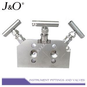 Collettore della valvola dell'acciaio inossidabile 3 dello strumento