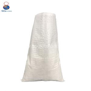 Impresso por grosso 25kg Saco de arroz de tecidos de PP branco