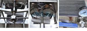 스테인리스 격판덮개와 프레임 여과 프레스 양조 매시 필터 맥주 필터