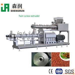 A linha de produção de alimentos para peixes automática de alimentos para peixes Coxim Extrusor