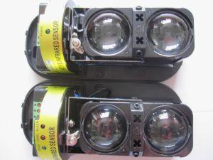 屋外の能動態IRの2つのビーム探知器(ABT-150)が付いている赤外線ビームセンサー