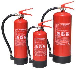 Brandblusapparaat van het Poeder van Kitemark En3 ABC het Droge
