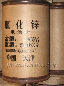 De Vrije Stroom van de Afzet van de fabriek van Rang 98% van de Batterij het Chloride van het Zink
