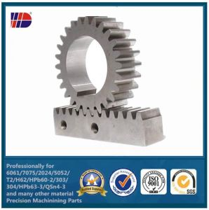 나선형과 Tooth Small Pinion Gear (WKC-202)