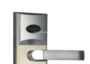 Satin-Edelstahl-moderner intelligenter elektronischer Tür-Verschluss