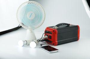 Systems-Sonnenenergie-Bank-Solargenerator des Sonnenkollektor-300W für das Kampieren