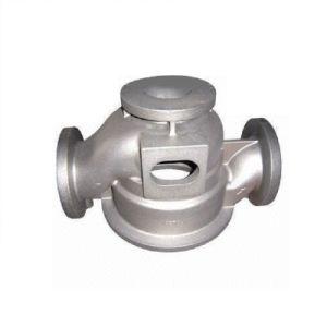 Aço inoxidável fundição de precisão de usinagem CNC microfusão da bomba de água