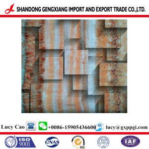 Acciaio galvanizzato preverniciato resistente all'uso con il disegno del mattone