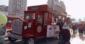 Het Ontwerp van de Milieubescherming! De commerciële Gebruikte ZonneVrachtwagen van het Voedsel voor Verkoop