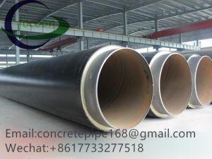 High-Density van de levering Geïsoleerdel Pijp Met grote diameter van de Pijp van het Staal van de Isolatie van het Polyethyleen de Spiraalvormige Polyethyleen