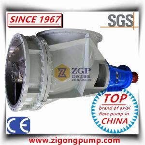 Horizontale hohe Leistungsfähigkeits-industrielle chemische Strömung-Propeller-Pumpe
