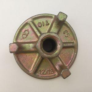 Moulage de coffrage écrou à oreilles de tirant de 15mm