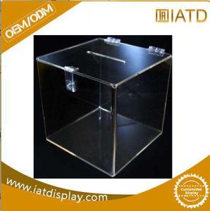 Clear acrílico Soccer ball baloncesto display box case 25x25 cm individuales vitrina