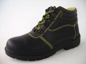Chaussures de sécurité ESD, avec des chaussures de sécurité de la coupe du milieu de stock