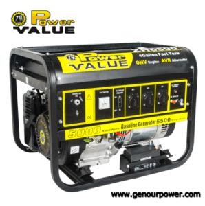 力Value 5kw/6kw Gasoline Generator Agricultural Equipment