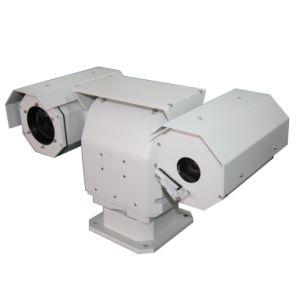 Вандалозащищенная конструкция доказательства для использования вне помещений военных День/Ночь Pantilt тепловой обработки изображений с камеры