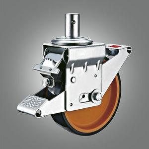 Ajustable StahlJack Eurotyp Baugerüst-Fußrolle