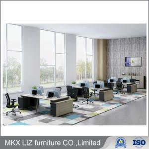 4 Persona armario personalizado de oficina mobiliario de la partición de la estación de trabajo (CP61L-4)