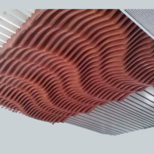 Panneaux en aluminium hyperbolique moderne pour la décoration de plafond
