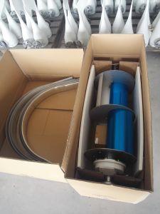 La generadora de energía vertical del viento Dg-P4-400W 12V 24V