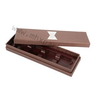 Papel Kraft de chocolate de luxo na caixa de embalagem