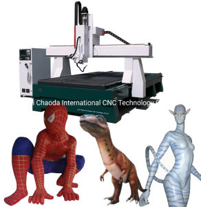 Router CNC de corte de espuma / Eixo 4 3D fresadora CNC para EPS isopor, PU, poliestireno, espuma de poliuretano
