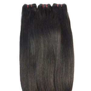 Double Angelbella tirées directement de la soie trame Remy Tissage de cheveux noir naturel des cheveux brésiliens de couleur