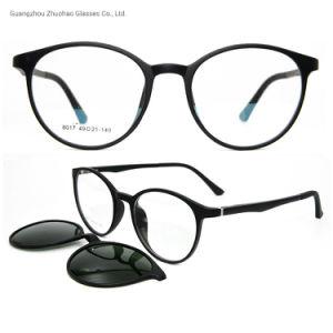 712484ce6b Fábrica de estilo de moda magnética personalizada Tr90 Marcos óptica  encajar gafas de sol para hombres