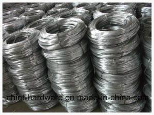 Engranzamento galvanizado do fio do ferro/de fio fio obrigatório