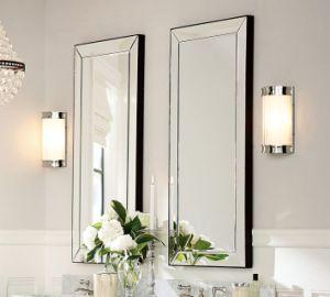 Espejo de pared decorativos de longitud completa de marco de un gran espejo de cristal